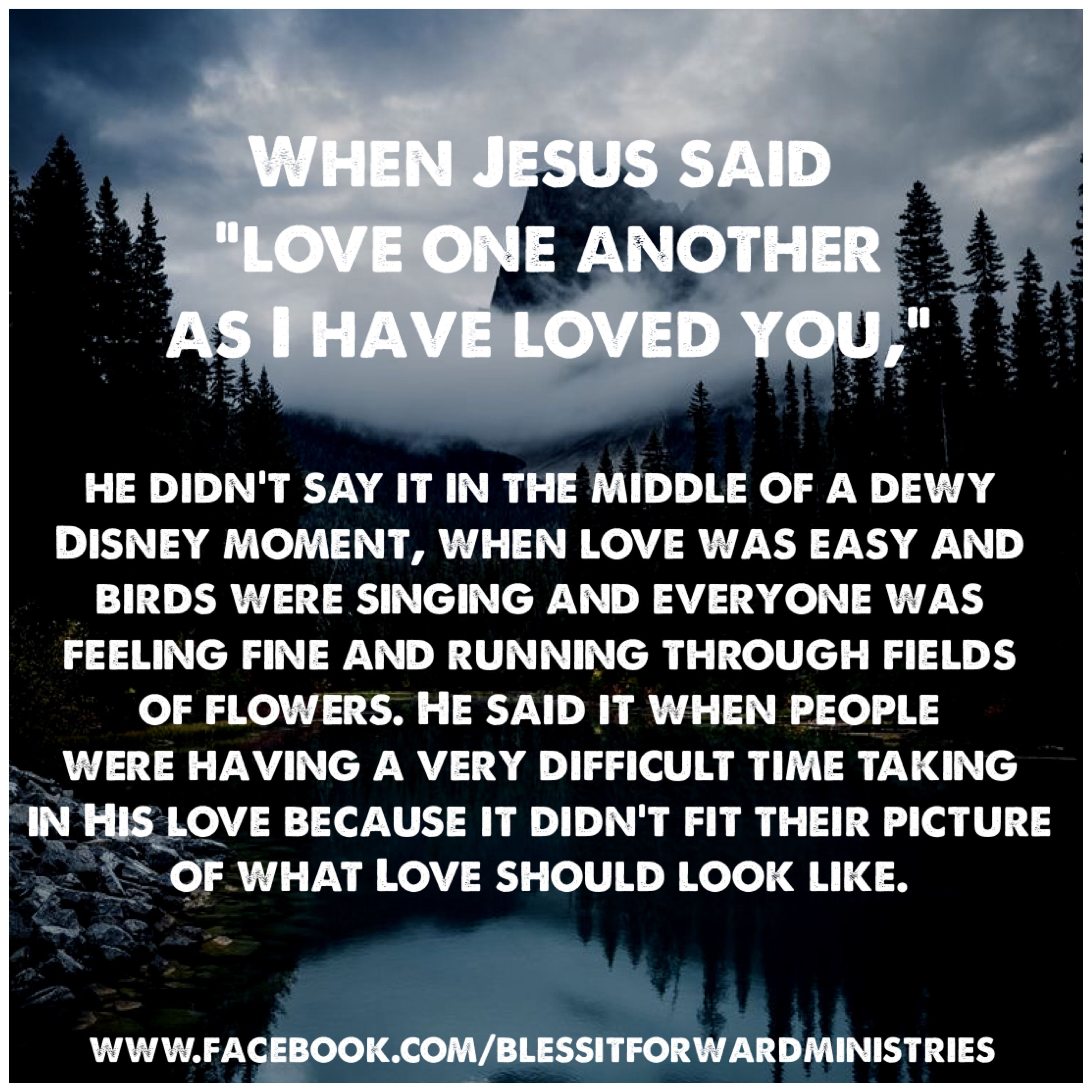 What Jesus Said About Love In The Bible