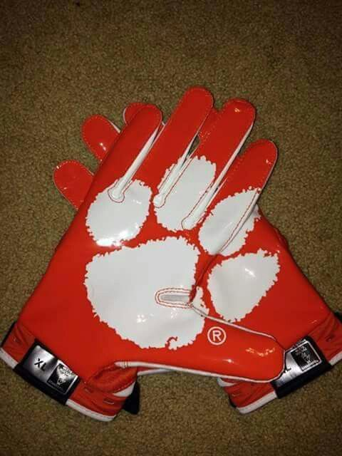 Clemson football gloves  33fbb1abb52b
