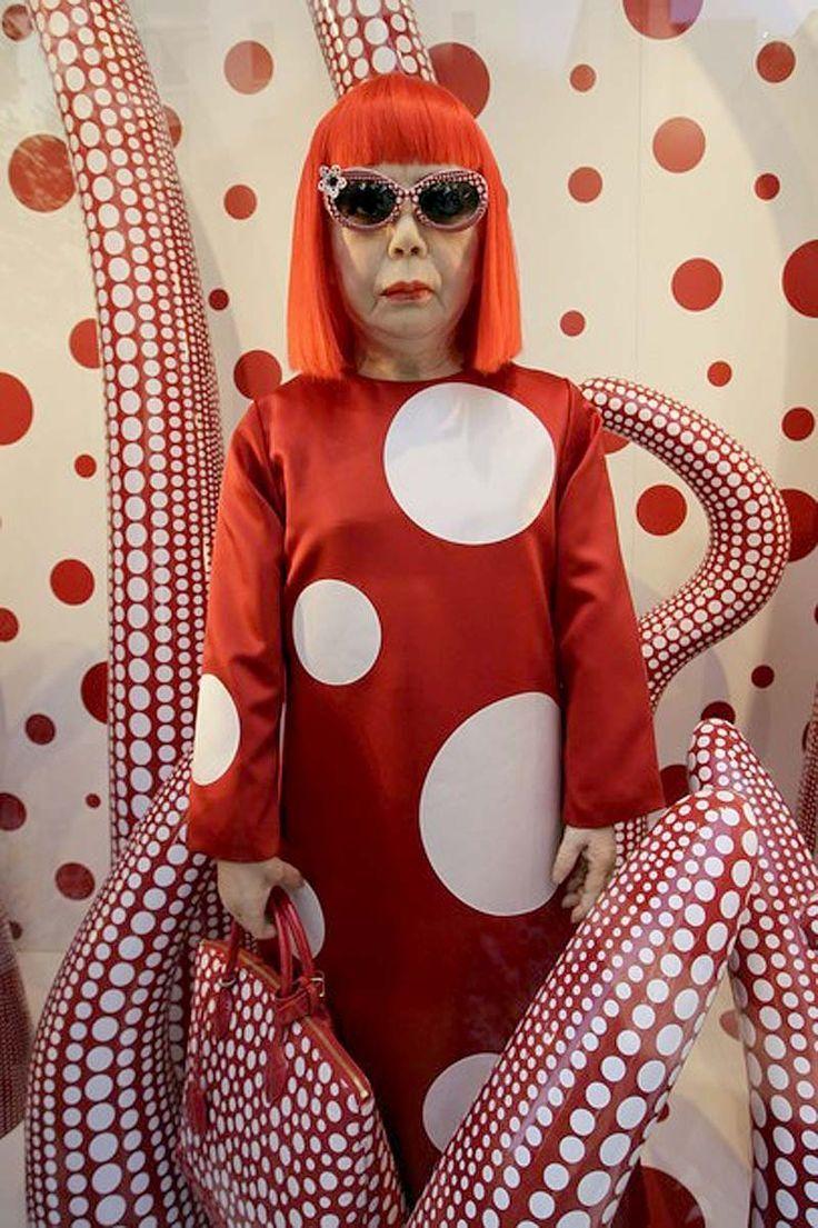 83 year old Japanese artist Yayoi Kusama Encyclopedia of