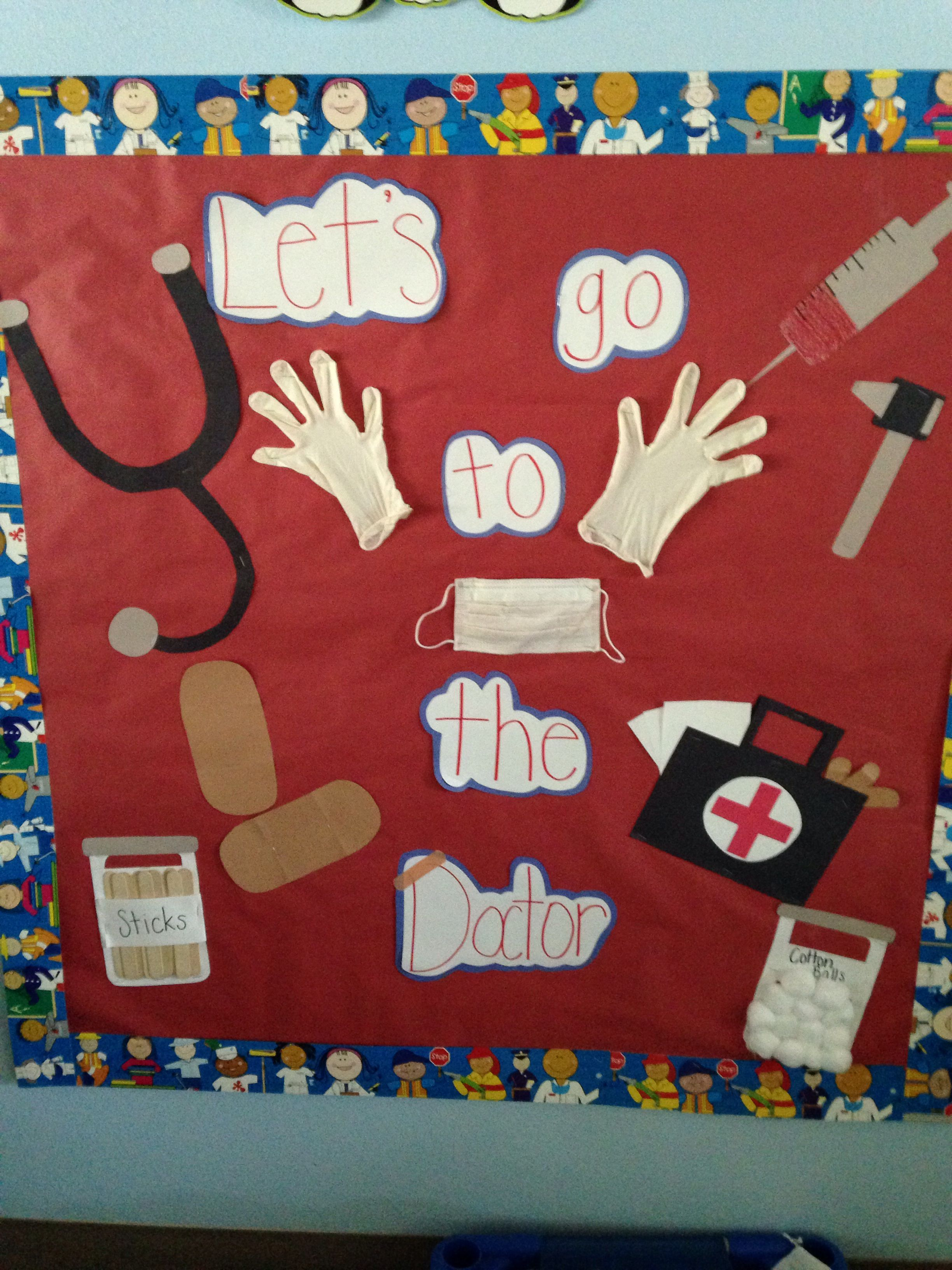 Classroom Design And Delivery ~ My doctor bulletin board preschool boards ideas