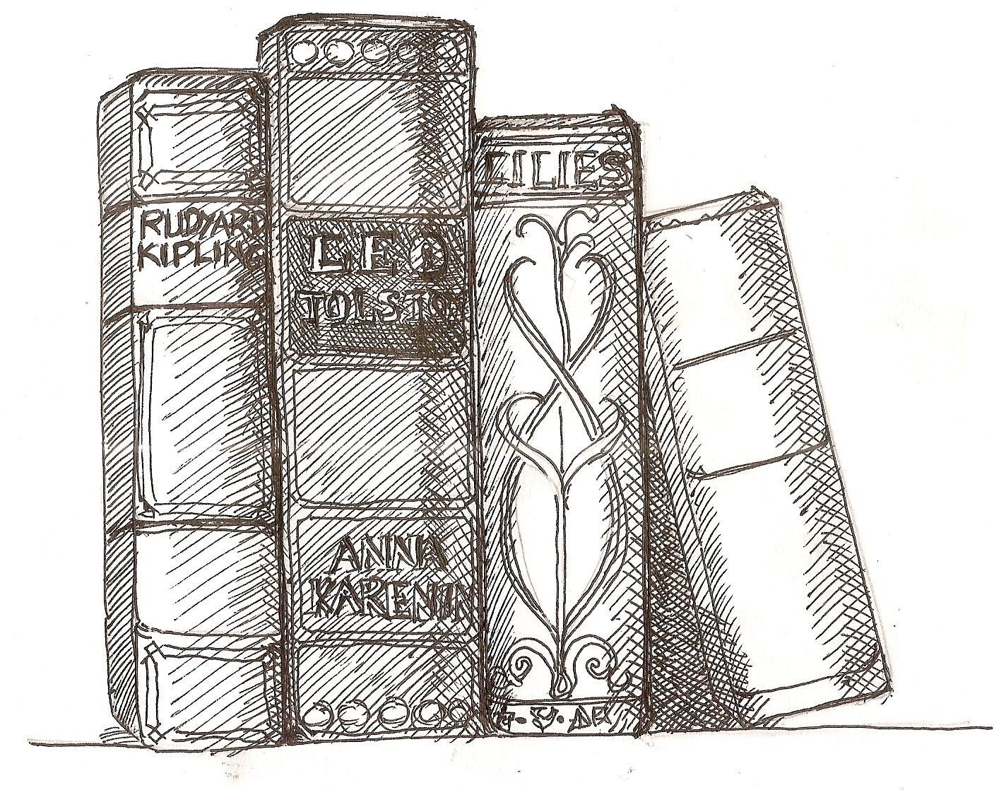 Books Drawing Tumblr