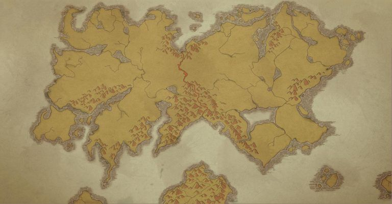 The World Map Map Fantasy Map World Map