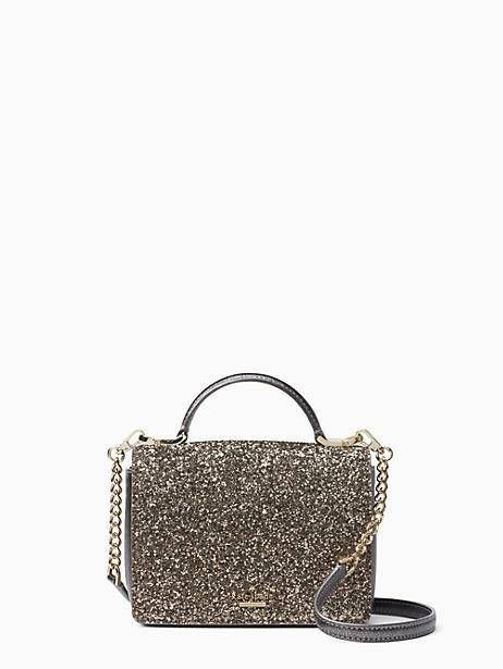 3c5a486366e Kate Spade Laurel Way Glitter Maisie, Gunmetal | Products in 2019 ...
