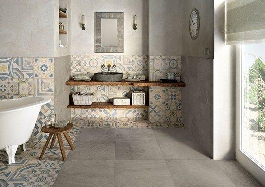 Il fascino delle tradizionali piastrelle in cemento decorato in