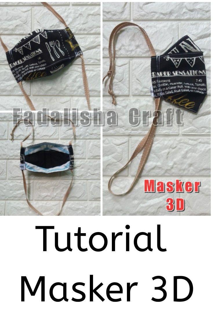 Tutorial Masker 3D / Cara membuat masker 3D in 2020