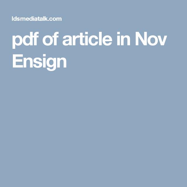 pdf of article in Nov Ensign