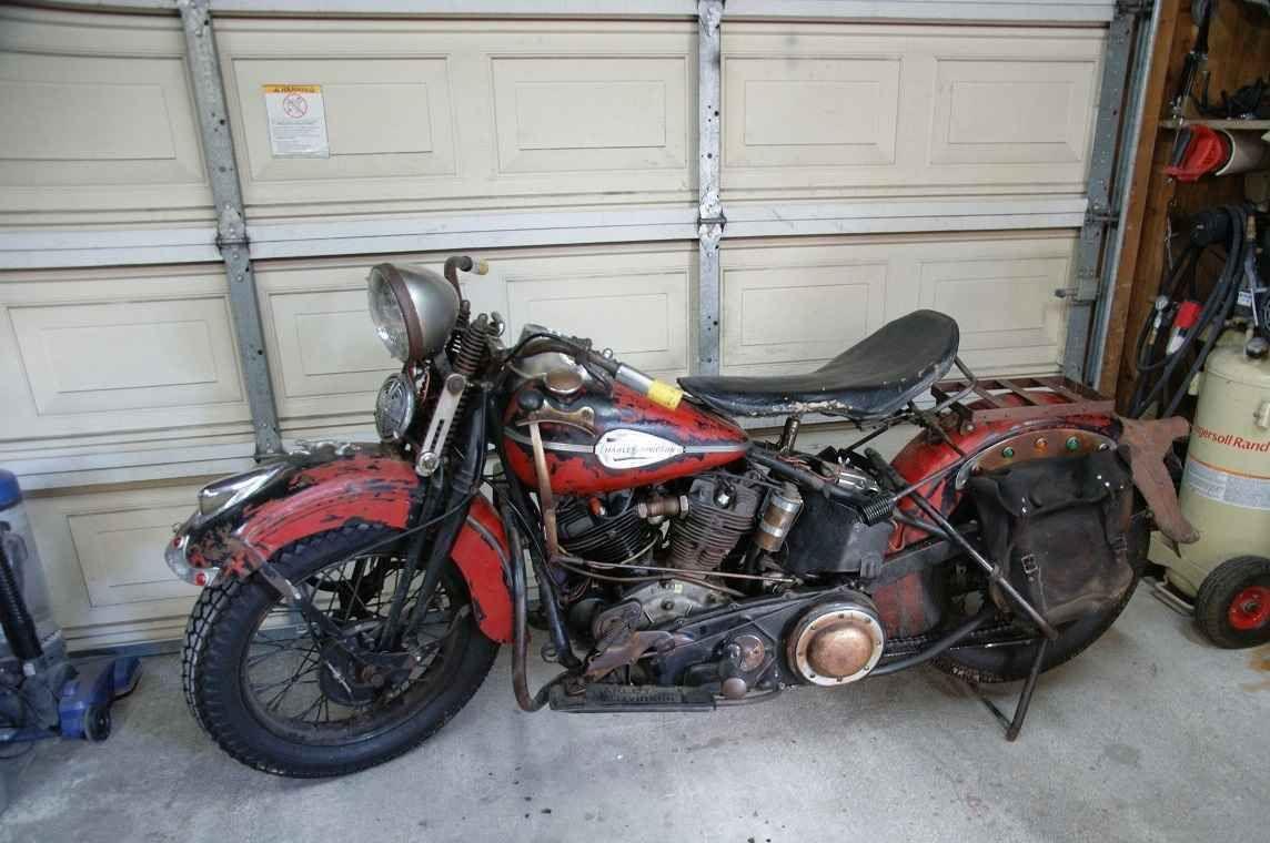1937 Harley Davidson Knucklehead Harley Davidson Knucklehead