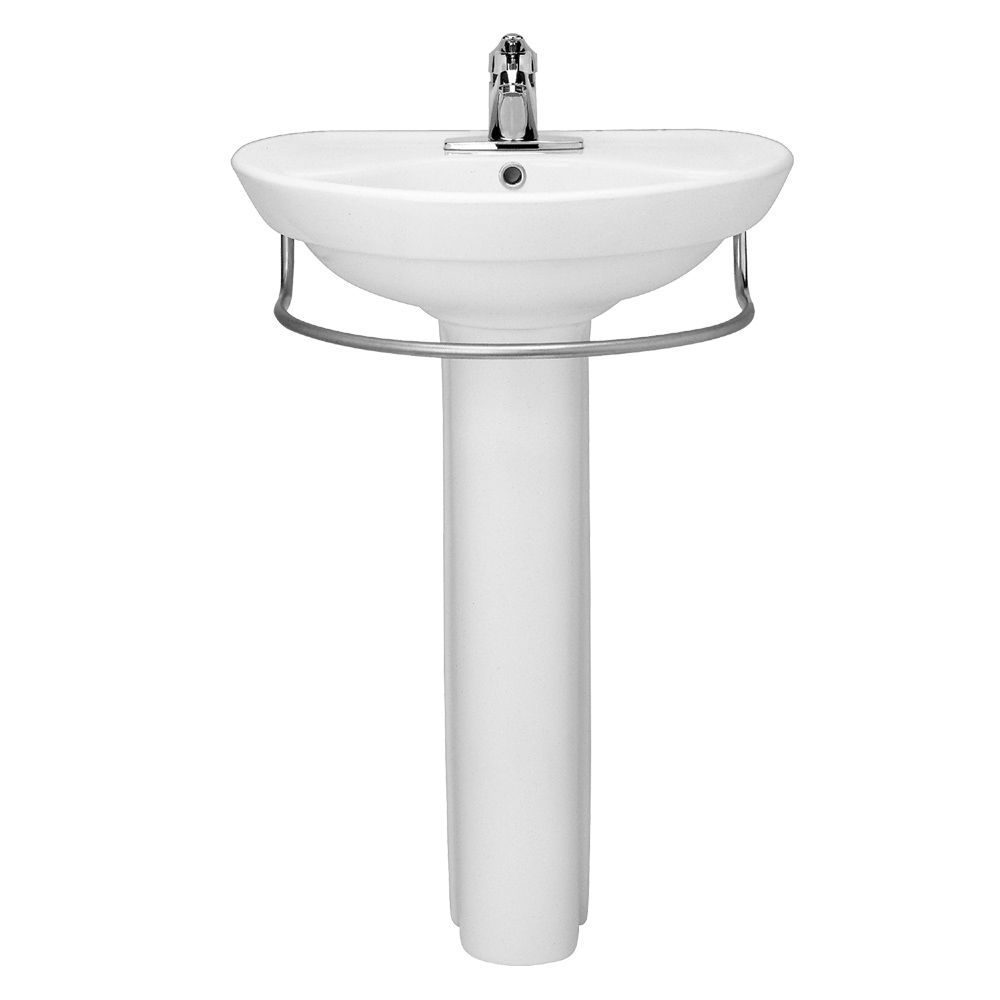 Ravenna Pedestal Sink White With Images Pedestal Sink