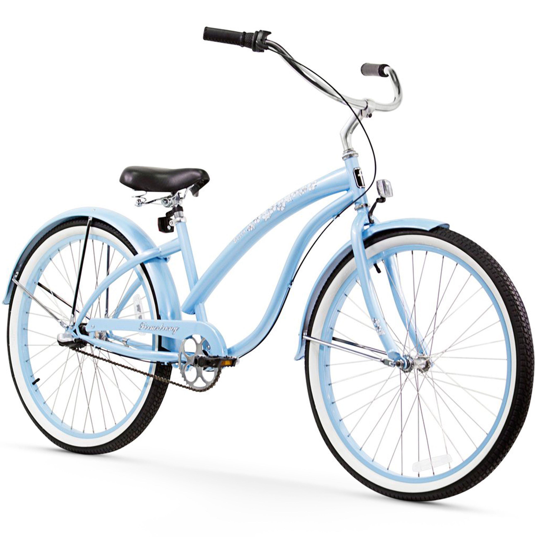"26/"" Firmstrong Bella Classic Three Speed Women/'s Beach Cruiser Bicycle Mint"