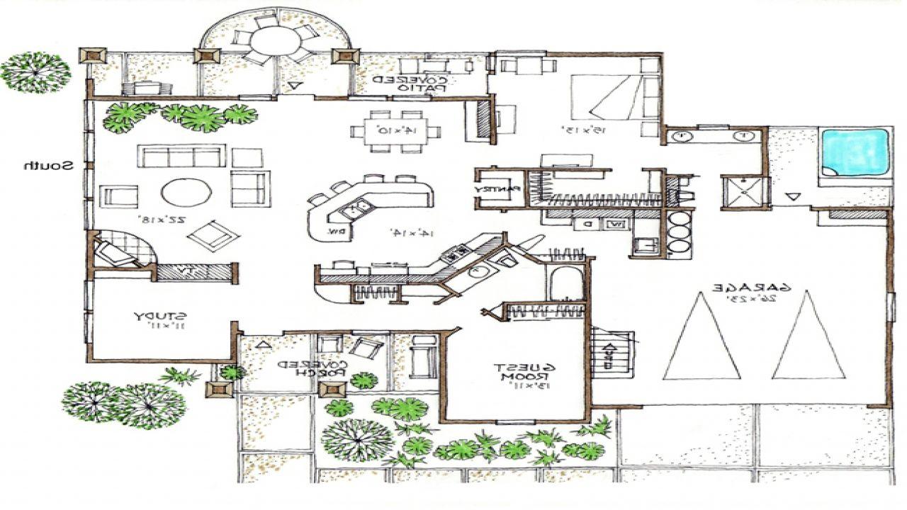 Open Floor Plans 1 Story Space Efficient House Plans Floor Plans House Plans Dream House Plans