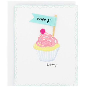 Sunshine Cupcake And Flag Birthday Card At Paperchase Cumples