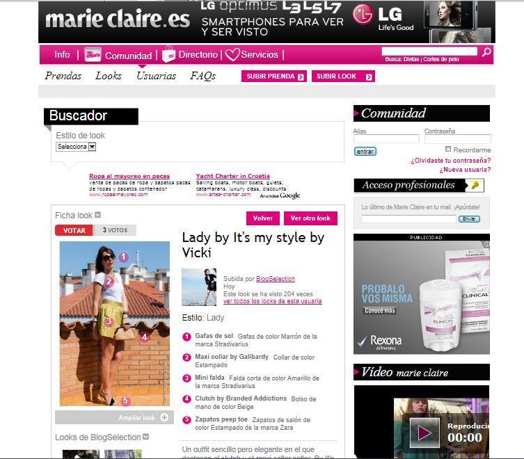 En Marie Claire