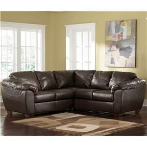 DuraBlend - Cafe Contemporary Upholstered L Shape Sofa Sectional by Ashley Millennium - Miskelly Furniture - Sofa Sectional Jackson, Mississippi