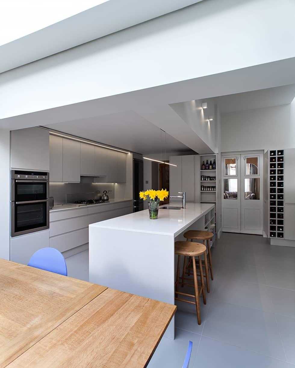 Architecture Design Limited fotos de cozinhas modernas por ape architecture & design ltd