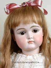 "Incredibly Lovely 27"" Early Kestner Closed Mouth Child Doll C. 1880 With XI Face"