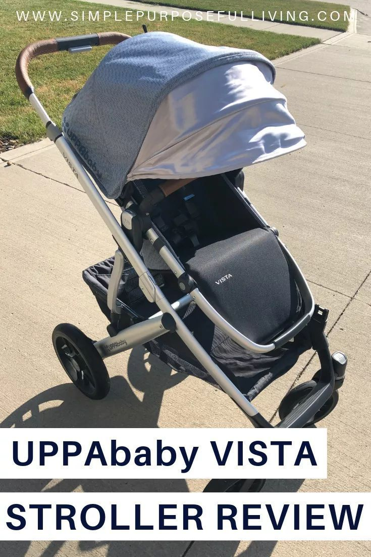 UPPAbaby VISTA Grows With Your Family Uppababy vista