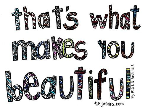 yes i am beautiful thanks one direction :)