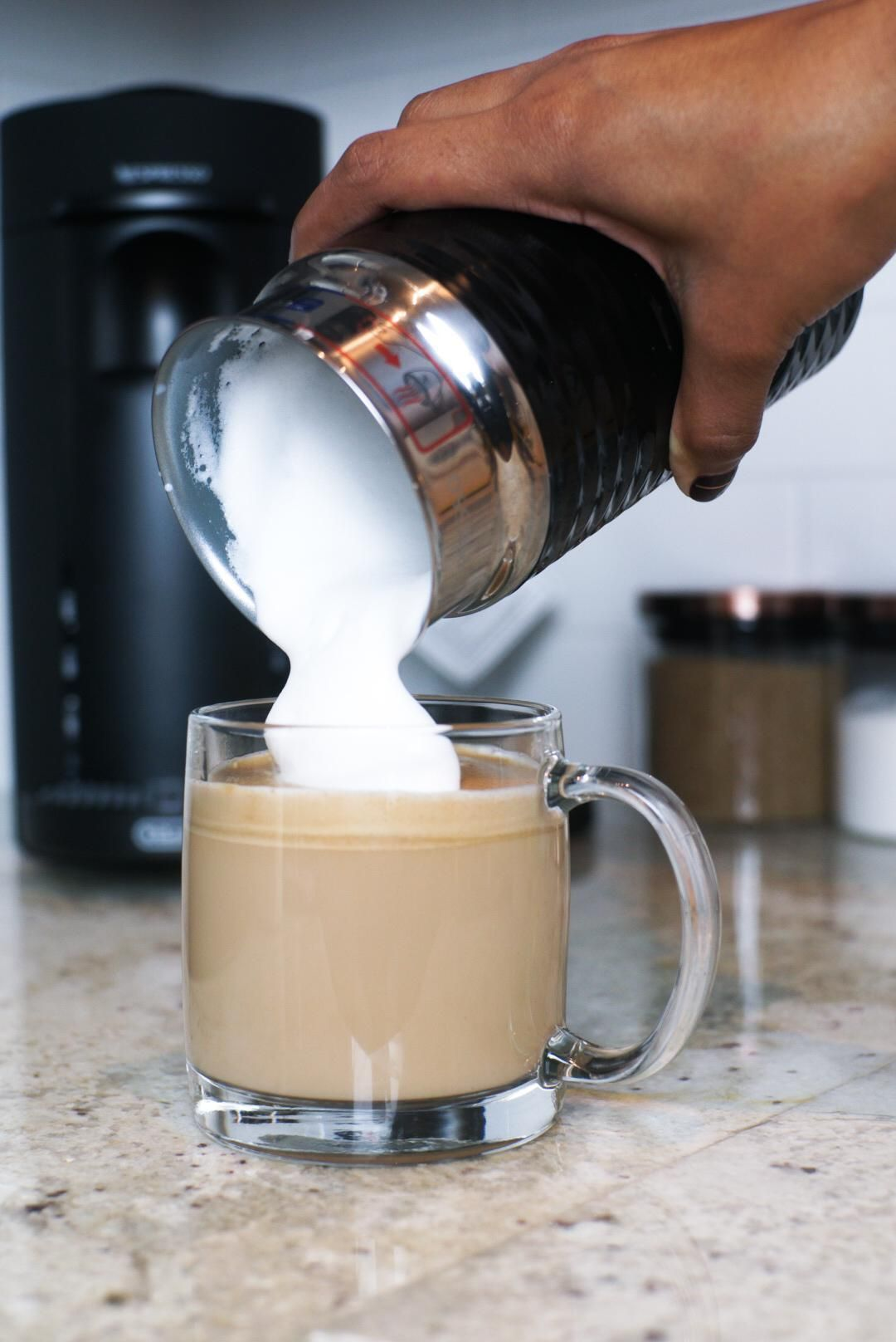 Coffee Recipes with the Nespresso Espresso Machine - Demi Joie #espressomaker