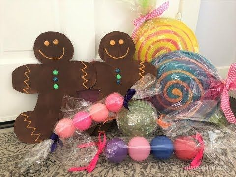 5 Ways to Make Giant Candy for a Candyland Theme