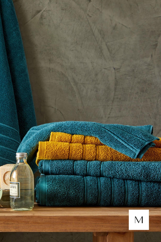 Drap De Bain Savon De Marseille serviette de toilette capri bleu en 2020 | serviette de