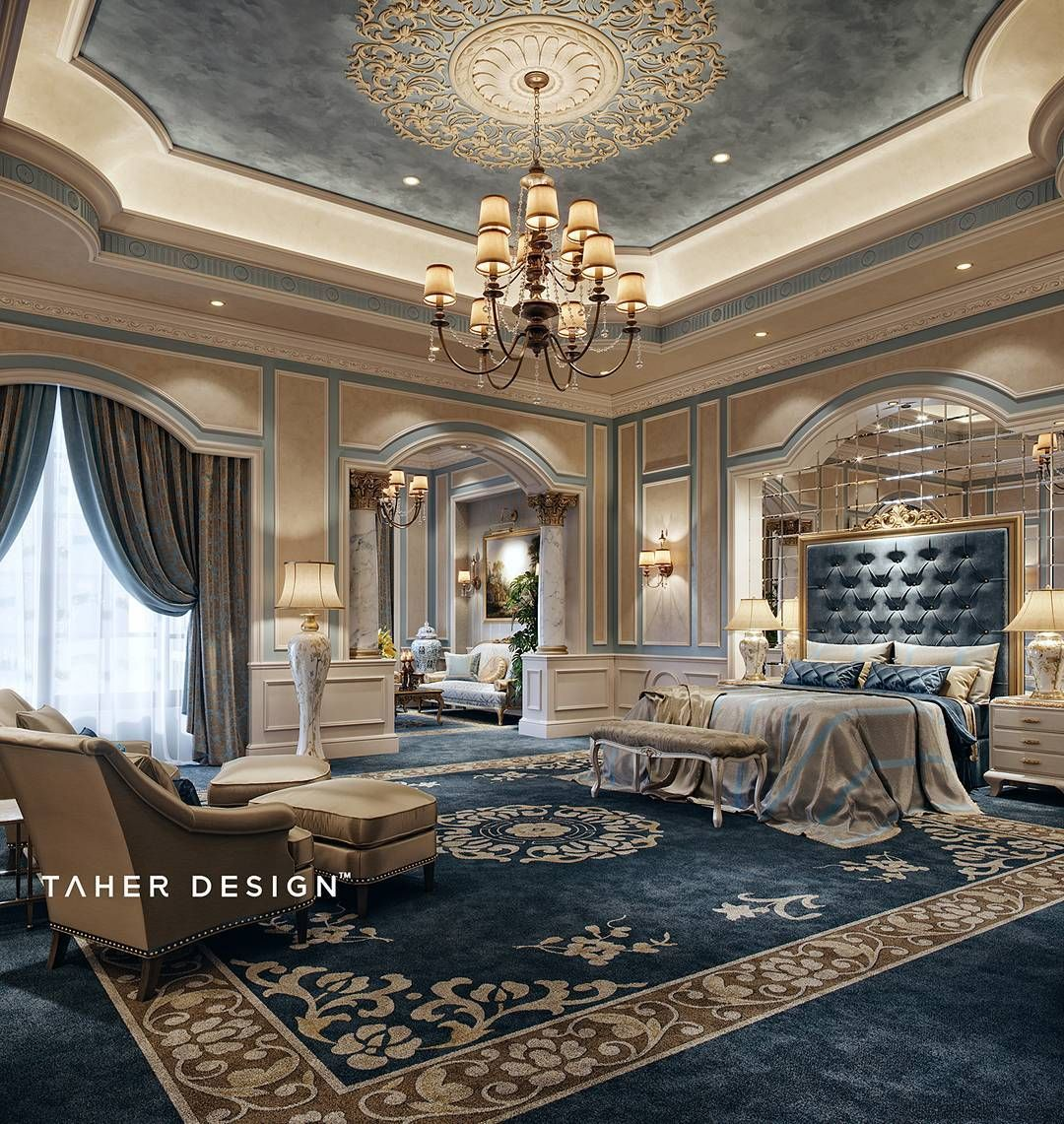 Tel : +20 120 580 0646 Contact@taherstudio.com #mansion #interior # Interiordesign #bedroom #masterbedroom #Taher_studio #muhammadtaher ...