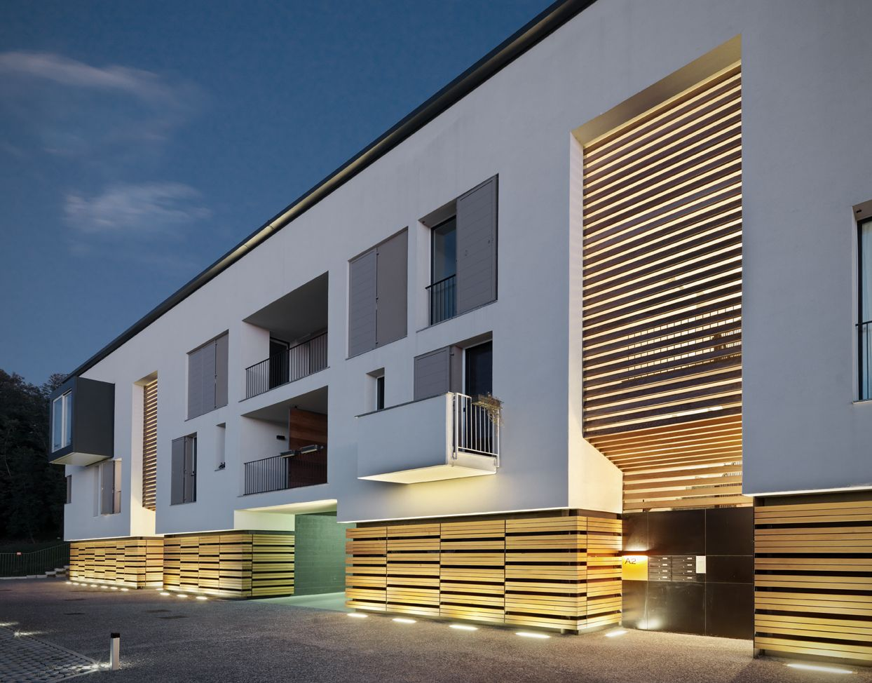 Residential-commercial complex in Azzate by Park Associati as Architects