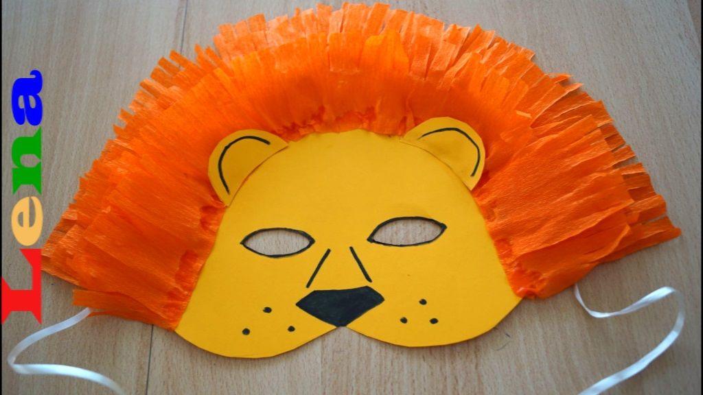 masken basteln für kinder mit bildern  masken basteln