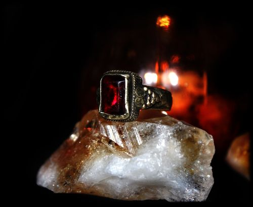 SPELL CAST RING: Become A HYBRID VAMPIRE! †~ POWERFUL Rare