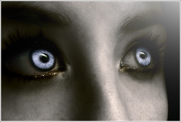 Her eyes lit like the moon  nonononyu.deviantart.com on @deviantART