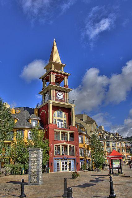 Mont Tremblant Village, Laurentides, Quebec, Canada