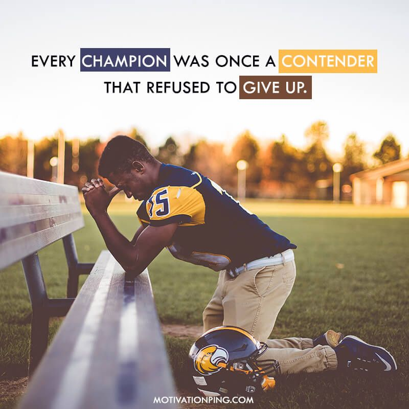 Motivational Quotes for Athletes Playing Sports