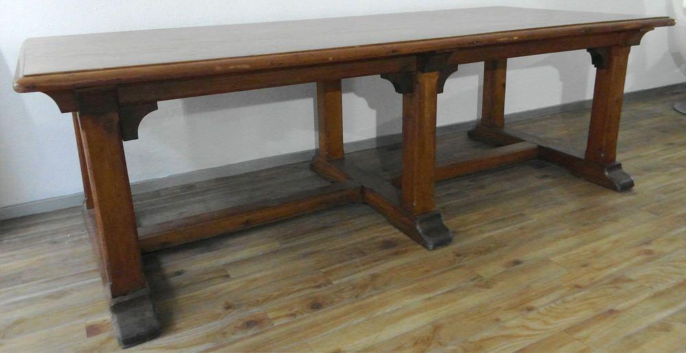 Alter Englischer Refektoriumstisch Klostertisch Tisch