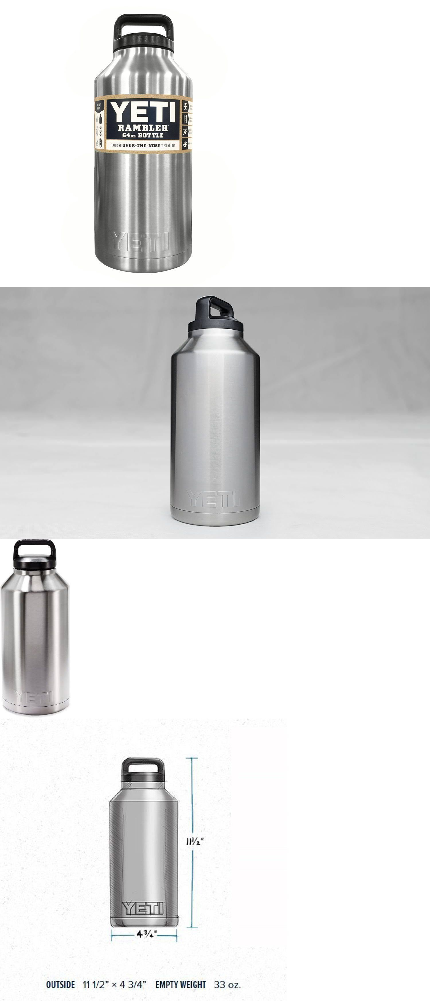 Yeti Rambler 64 Oz Stainless Steel Vacuum Insulated Bottle In 2018