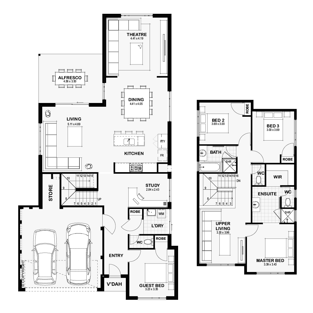 Narrow Lot Homes Perth (With images) House design, New