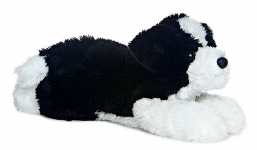 Stuffed Mustache Dog Toy