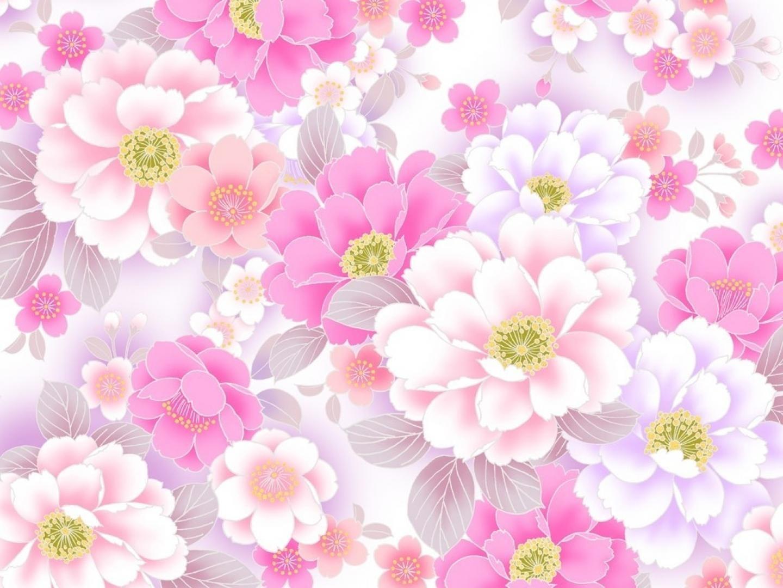 Flores Lilas Con Rosas Sobre Fondo: Fondos De Flores Rosas Para Pantalla Hd 2 HD Wallpapers