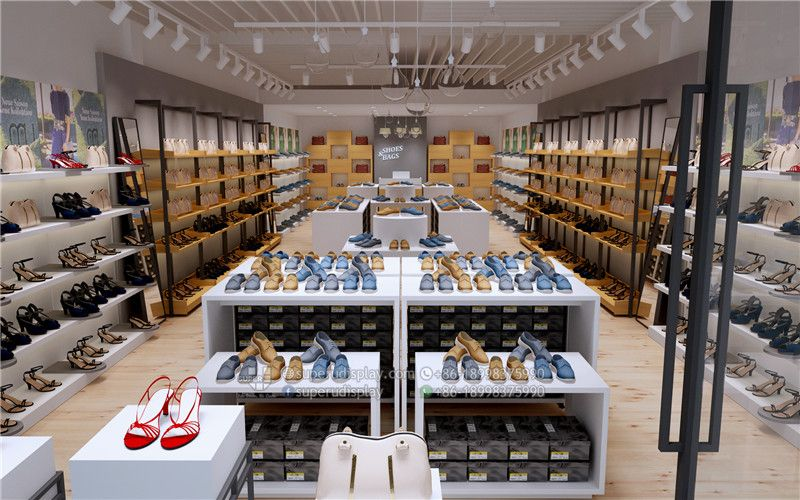 Ghana Shoes Bags Store Interior Design And Layout Design Store