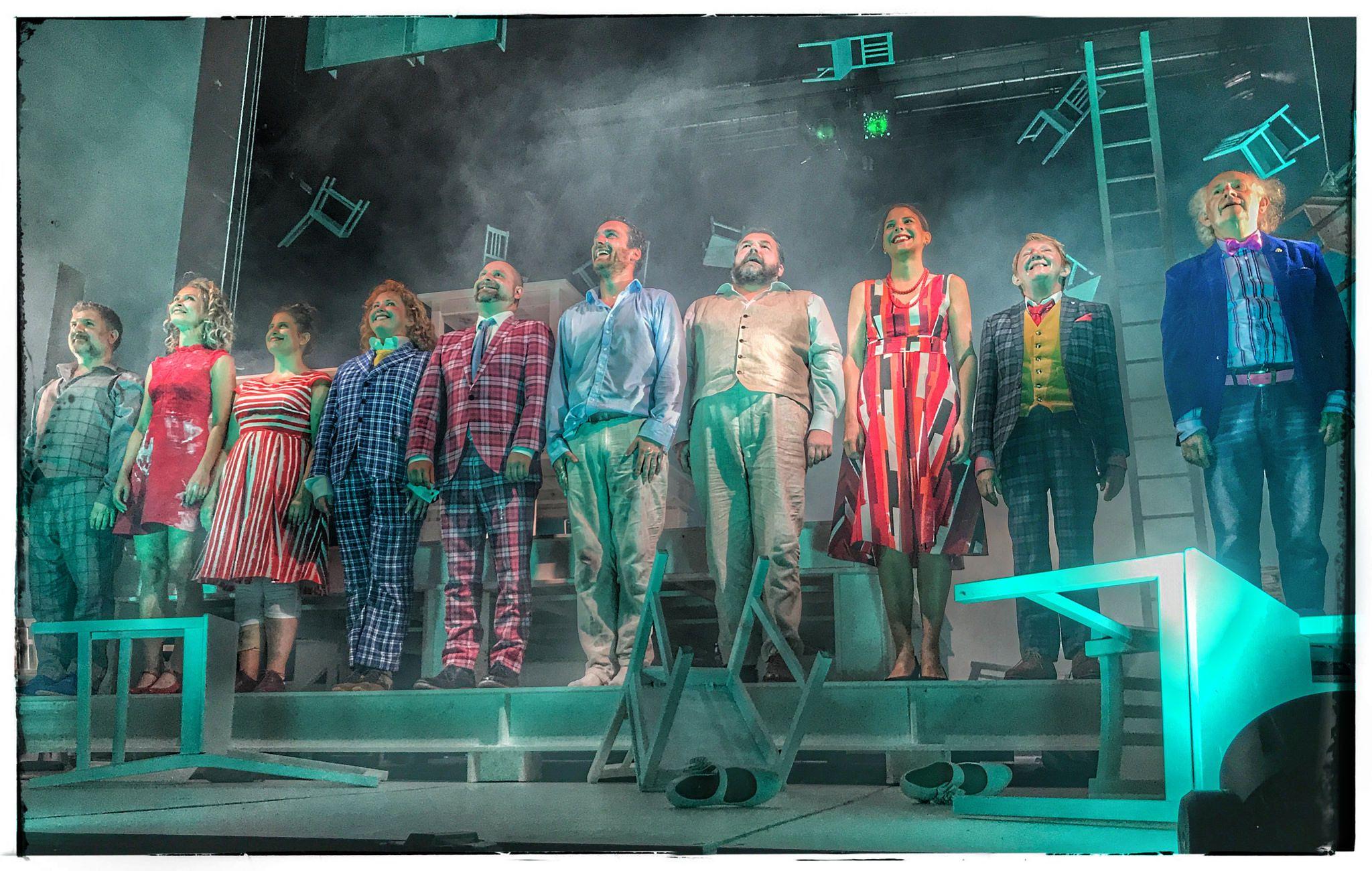 Curtain Call Rhinoceros By Eugene Ionesco Edinburgh