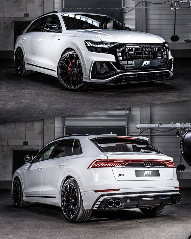All New @abt_sportsline_usa Audi Q8 Aero Upgrades Now