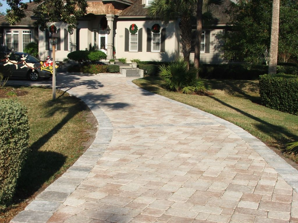 Cozy belgard pavers for interesting outdoor design for Green pavers