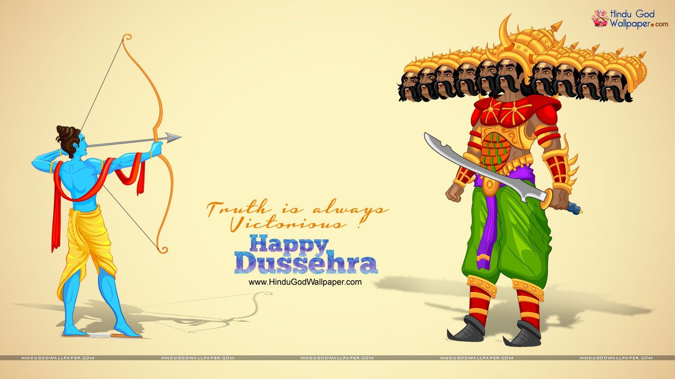 Dussehra Wishes Hd Wallpapers Free Download Festive Events Pinterest