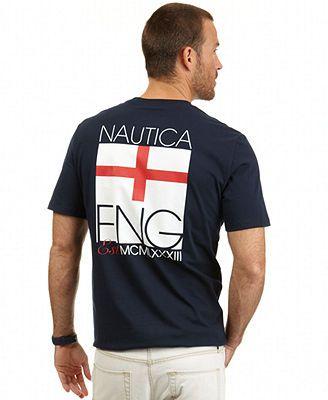 0150f0894243 Nautica England World Cup T-Shirt