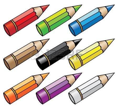 Resultado De Imagen Para Lapices De Colores Dibujo Animado Tip Jars Jar Color