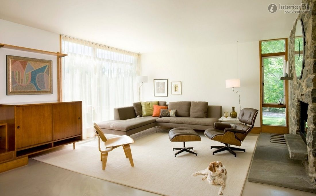 "Designing Living Rooms Simple Mcm Living Room From ""trendy Midcentury Modern Interior Design Design Inspiration"