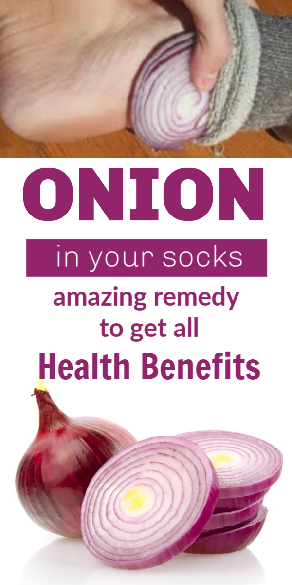 Put onion in your socks while sleeping to get amazing health benefits Put Onion In Your Socks While Sleeping To Get Amazing Health Benefits