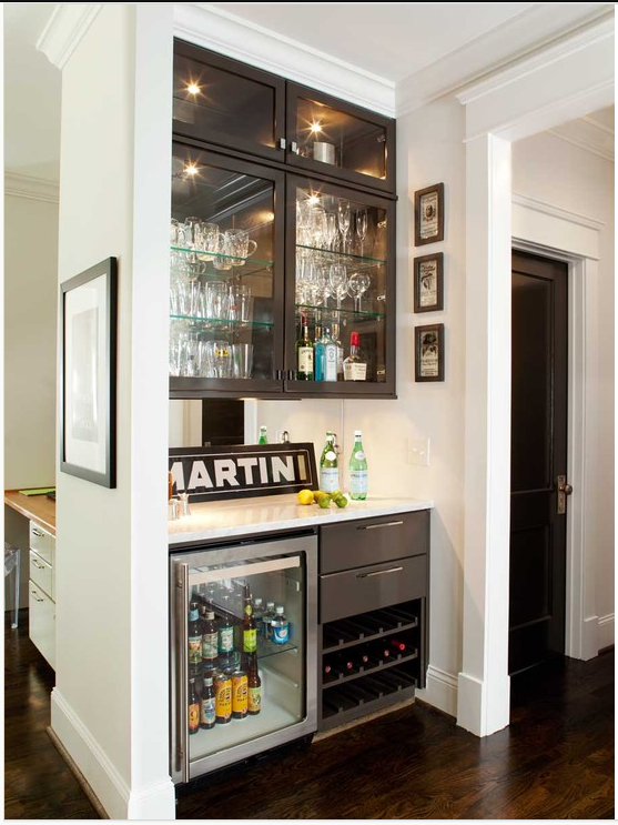 Looking At This Photo, It Occurs To Me That The Built In Corner Hutch In  Our Dining Room Is Supposed To Be A Bar. Condo Kitchen Ideas Design,  Pictures, ...