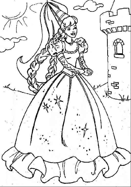 Prinzessin 18 Ausmalbilder | Ziyaret Edilecek Yerler | Pinterest ...
