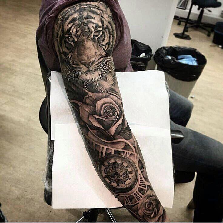 Männer coole tattoos 100+ Knife