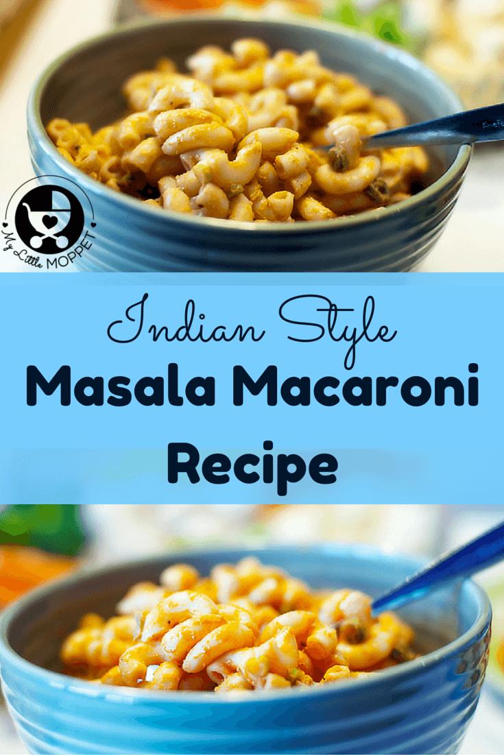 Indian Style Masala Macaroni | Recette | Quick vegetarian low carb ...