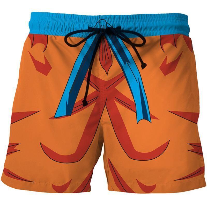 301e02e5351b0 GOKU SHORTS Carnaval, Pantalones Cortos Masculinos, Pantalones Cortos Para  Nadar, Pantalones Cortos De